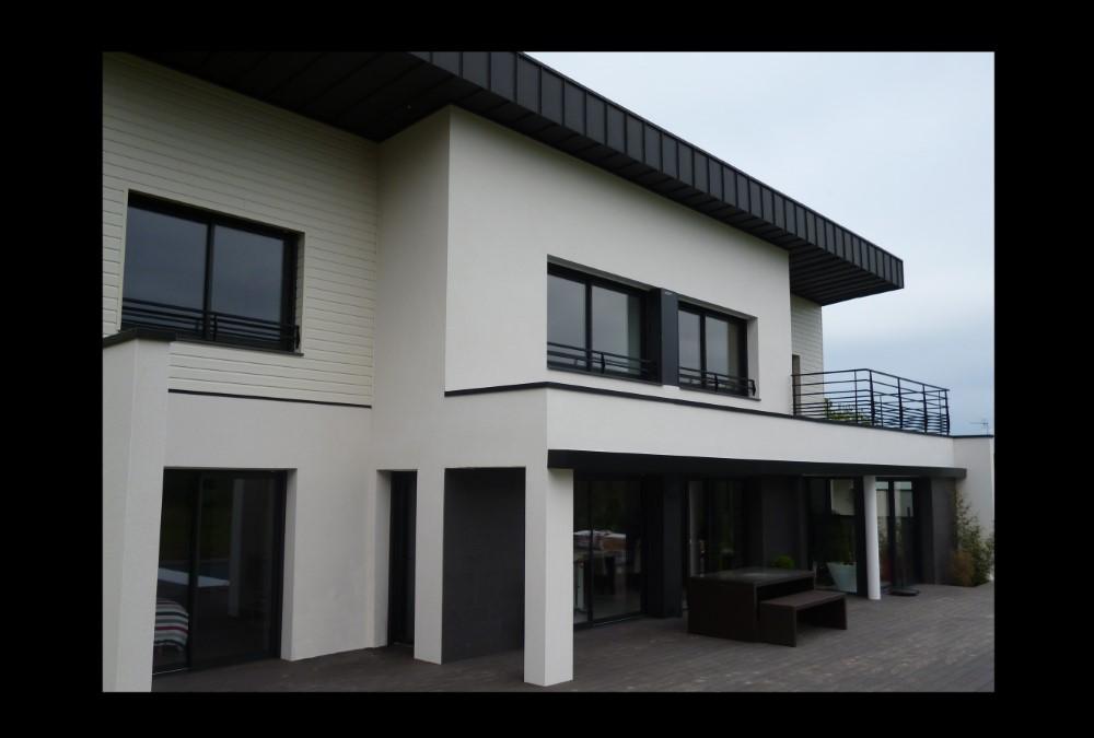 SARL HANCQ LESOURD Architecte Vannes Maison (21) 242
